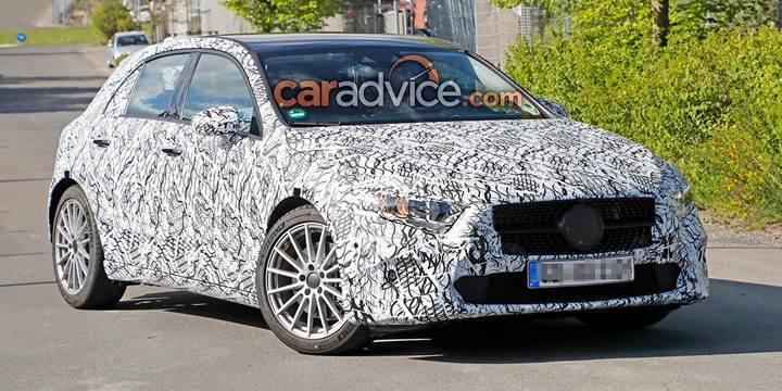 Yeni nesil Mercedes-Benz A-Serisi bir kez daha kamuflajlı olarak görüntülendi