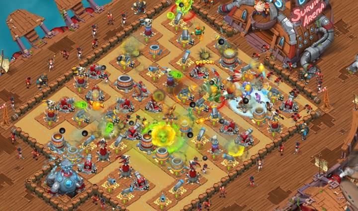 Survival Arena: Clash Royale ve Kingdom Rush melezi