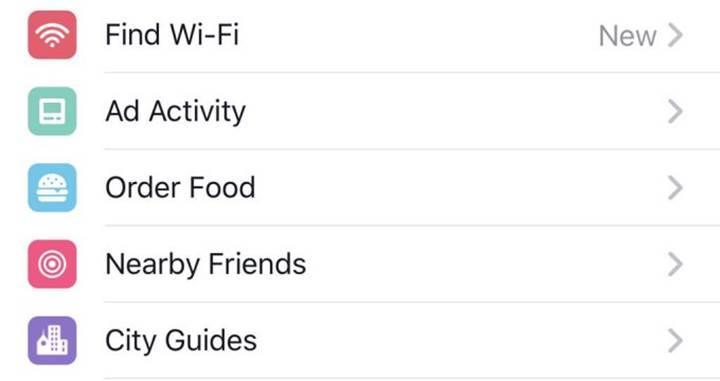 Facebook üzerinden yemek siparişi dönemi başlıyor