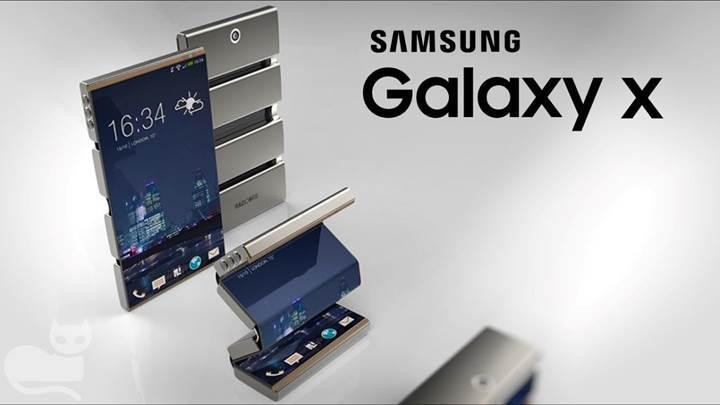 Samsung gerilebilir esnek OLED ekranını SID 2017'de sergileyecek
