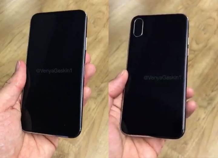 iPhone 8'in maketini gösteren bir video yayınlandı