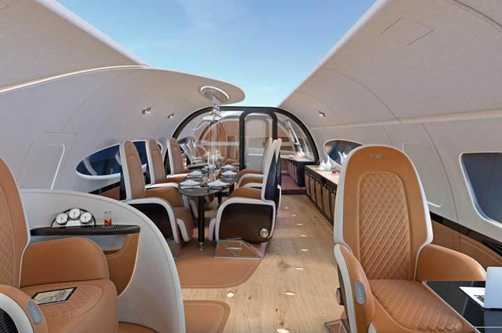 Airbus'ın yeni jet kabini eşsiz bir uçuş deneyimi sunuyor