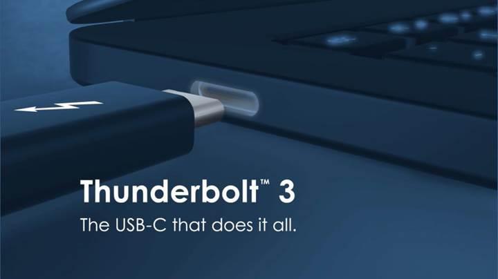 Intel, Thunderbolt 3 teknolojisini ücretsiz hale getiriyor