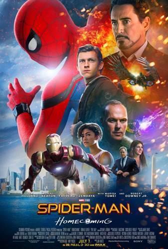 Spider-Man: Homecoming'den yeni fragman ve posterler