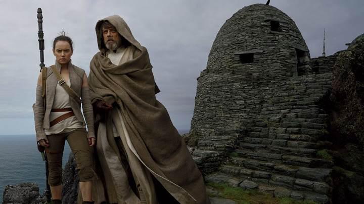 Star Wars: The Last Jedi'dan ilk görüntüler yayınlandı