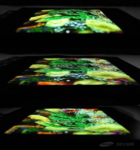 Samsung, esnek ekran prototipini sergiledi