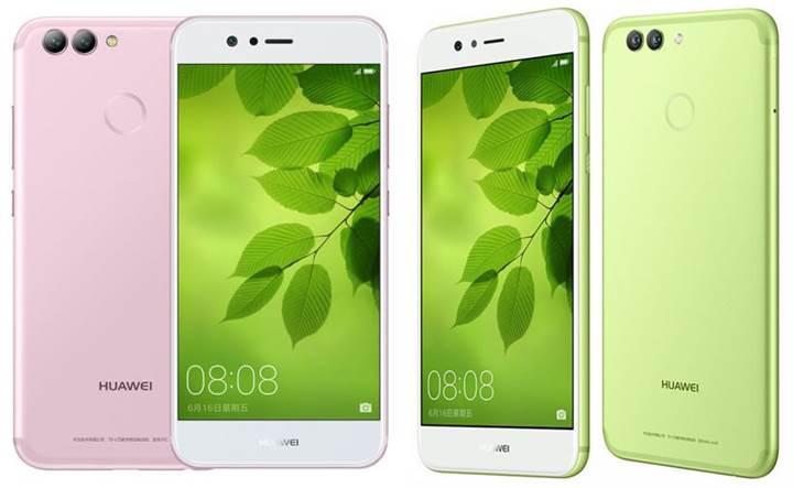 Huawei Nova 2 ve Nova 2 Plus resmiyet kazandı
