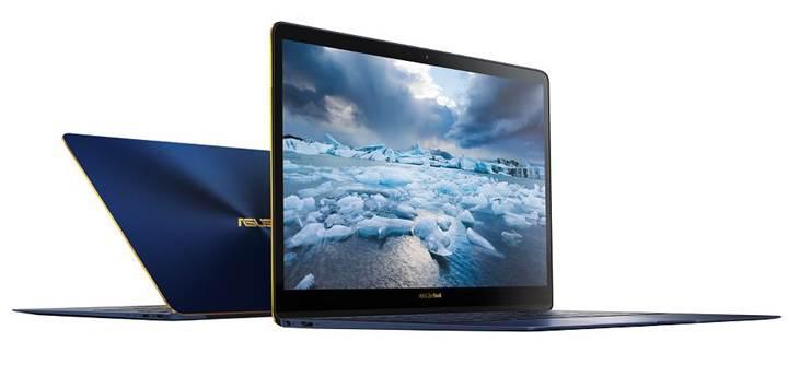 Asus'tan dünyanın en ince 14 inç laptopu: ZenBook 3 Deluxe