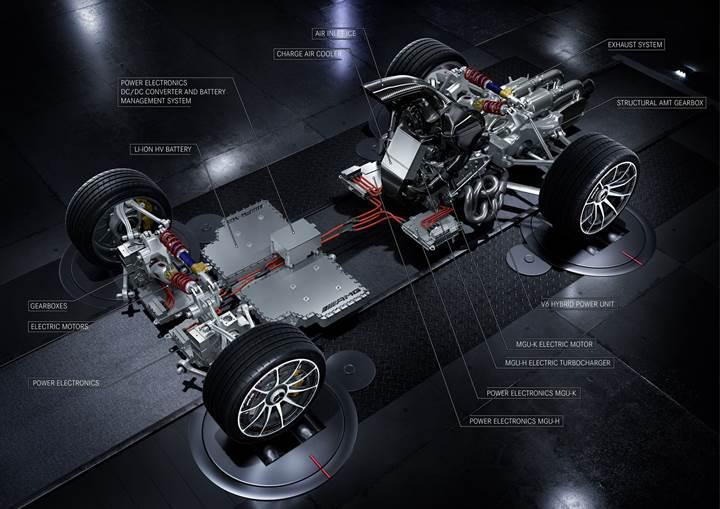 Mercedes-AMG Project One'ın resmi teknik detayları belli oldu