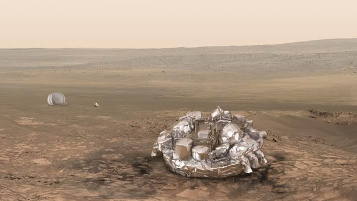 Schiaparelli uzay aracı, sistem hatası yüzünden düşmüş