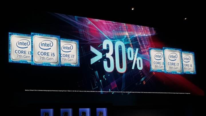 8. nesil Intel işlemciler yüzde 30 performans artışıyla geliyor
