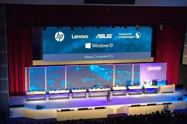 Microsoft, Snapdragon 835'li Windows 10 PC'leri kimlerin üreteceğini açıkladı