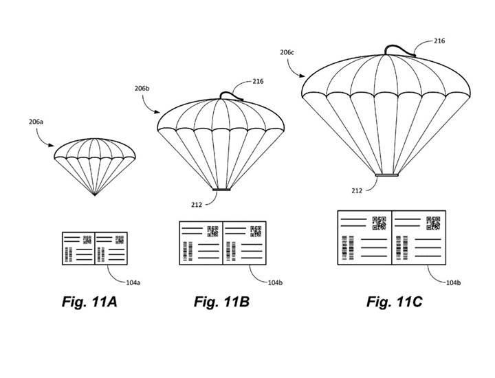 Amazon, drone ile teslim ettiği kargolara paraşüt takacak