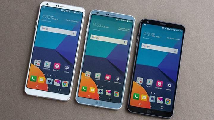 LG G6 Plus ve G6 Pro yolda