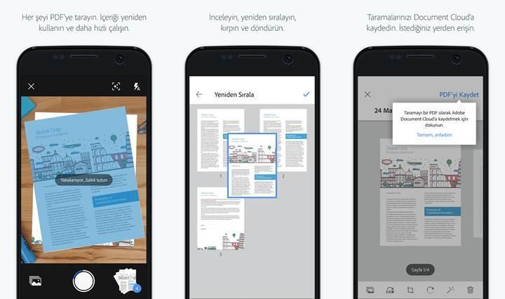 OCR özellikli Adobe Scan uygulaması kullanıma sunuldu