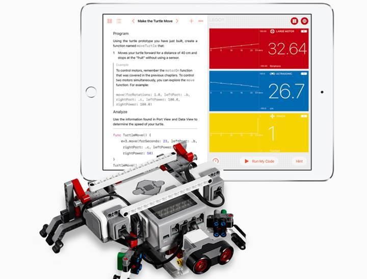 Swift Playgrounds şimdi robotlara ve dronelara da destek veriyor