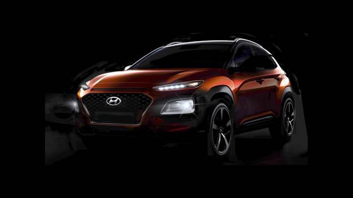 Hyundai Kona neredeyse tamamen ortaya çıktı