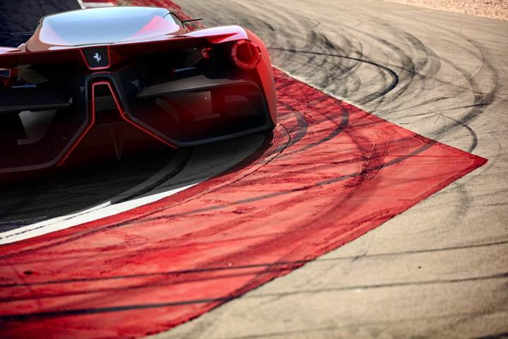 Ferrari'nin yeni süperarabasının konsept çalışmaları paylaşıldı