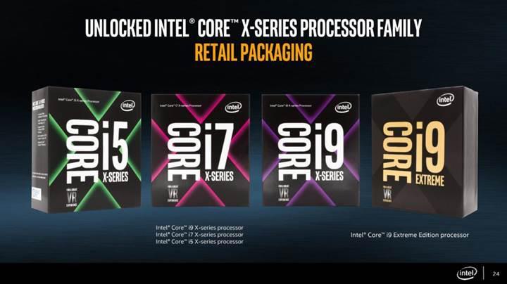 18 çekirdekli Intel Core i9 işlemcisi yıl sonuna kaldı