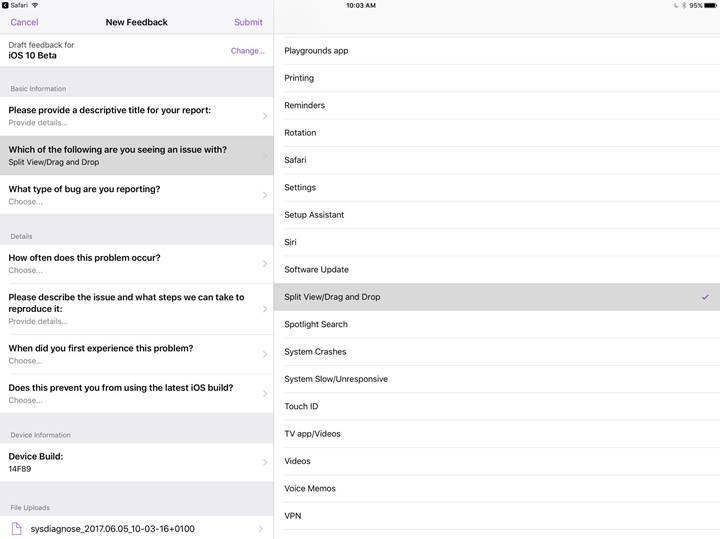 Apple, iPad'lere sürükle-bırak özelliği getiriyor