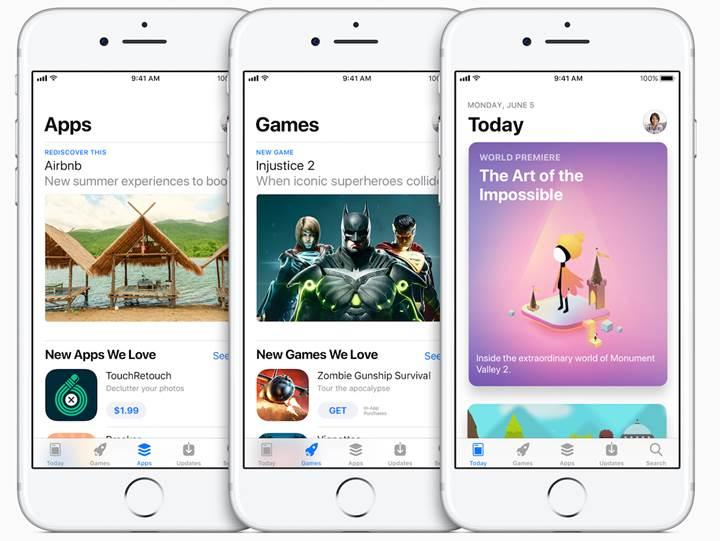 App Store tamamen yenilendi
