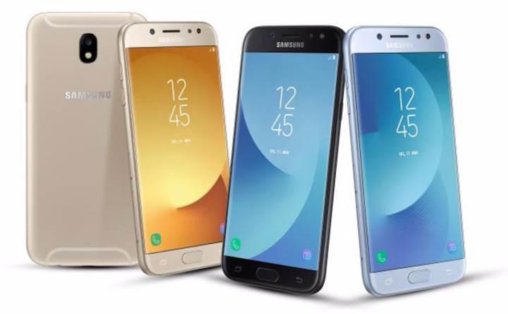 Samsung Galaxy J3, Galaxy J5 ve Galaxy J7 (2017) resmen tanıtıldı