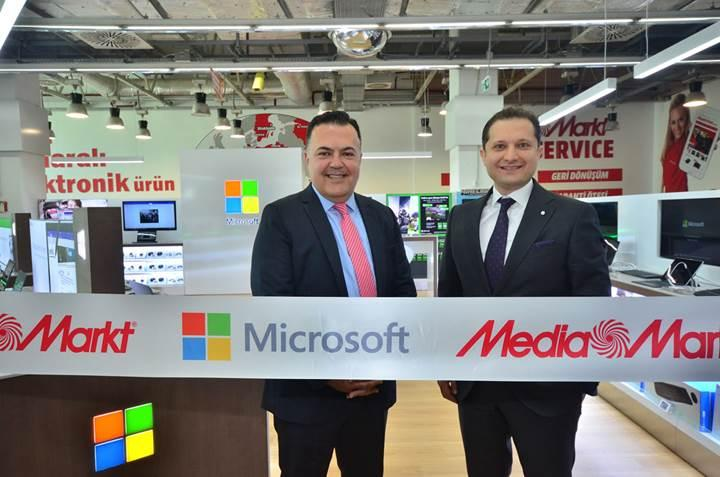 Microsoft'un Türkiye'deki ilk mağaza içinde mağazası açıldı