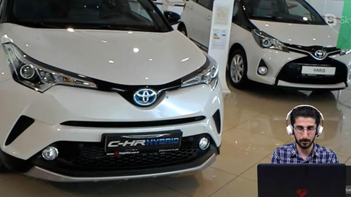 Toyota İnteraktif Showroom'u denedik