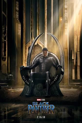 Black Panther filminden ilk fragman ve poster yayınlandı