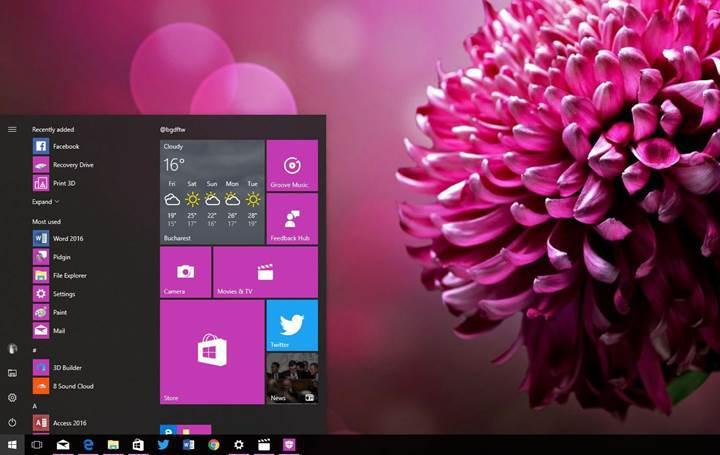 Windows 10'a önemli yenilikler geliyor