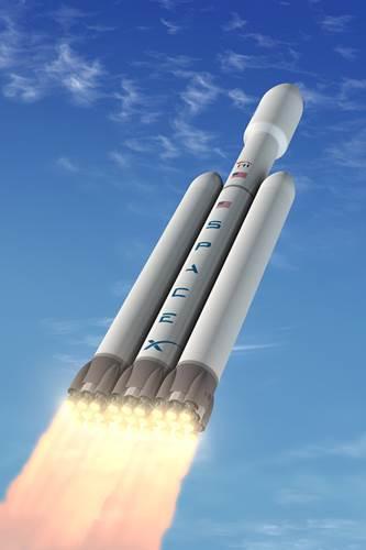 SpaceX en büyük roketini uzaya göndermeye hazırlanıyor