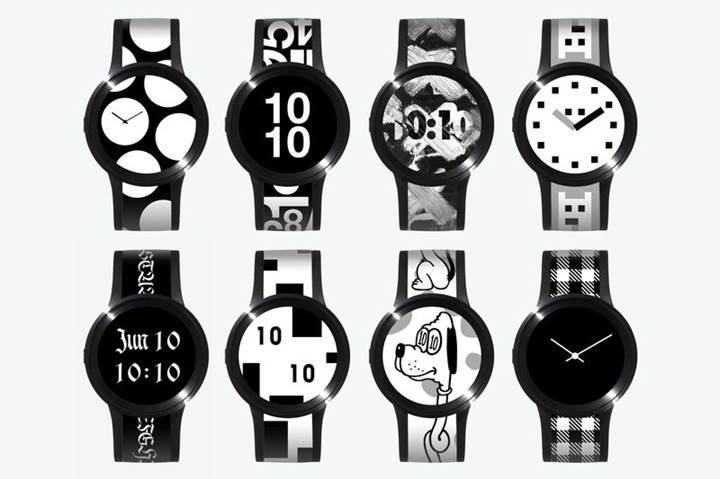 Sony'nin yeni E Ink saati FES Watch U satışa sunuluyor