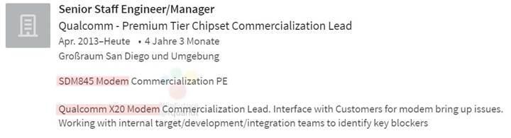 Snapdragon 845, 1.2Gbps indirme hızı sunan X20 modemle gelecek