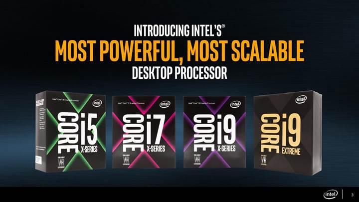 18 çekirdekli Intel Core i9 işlemcisi en erken Ekim ayında piyasada