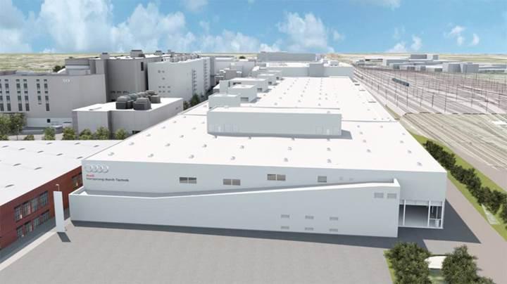 Audi'den elektrikli otomobiller için E-Fabrika