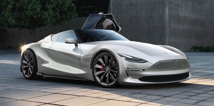 Yeni Tesla Roadster 100 km/s hıza 2 saniyenin altında ulaşacak