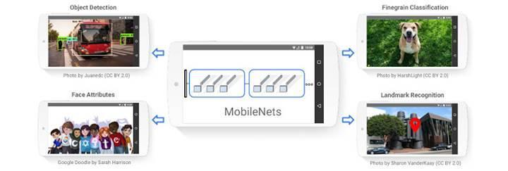 Google'dan yeni görsel tanıma yazılımı: MobileNets