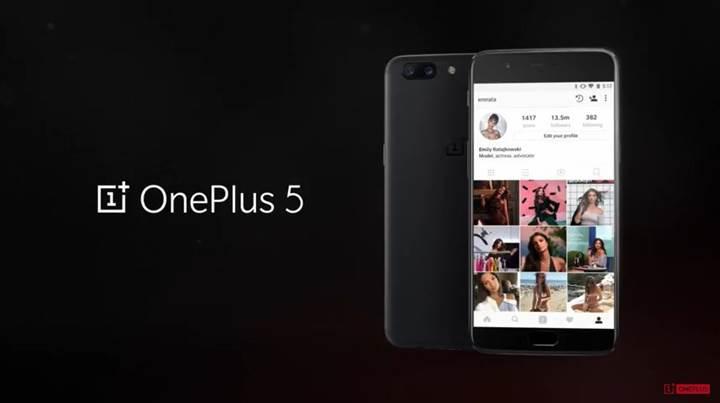 OnePlus 5 tanıtıldı: Snapdragon 835, çift kamera ve 8GB RAM