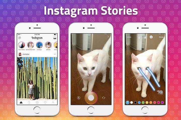 Instagram Stories'ın kullanıcı sayısı, Snapchat'ın kullanıcı sayısını geçti