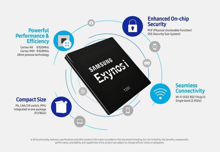 Samsung, Nesnelerin İnterneti için ilk yongasını duyurdu