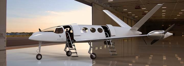 1000 kilometre menzile sahip elektrikli uçak prototipi