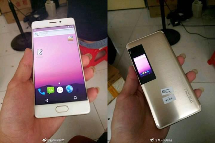 Yeni sızıntı Meizu Pro 7'nun ikinci ekranı açığa çıkardı