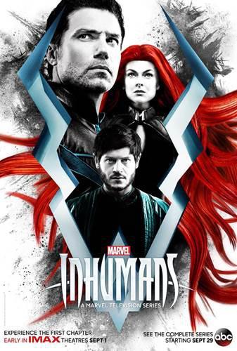 Yeni Marvel dizisi Inhumans'ın ilk fragmanı yayınlandı