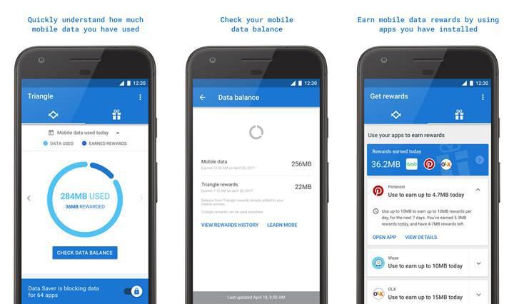 Google'dan mobil veri tüketimini takip eden Android uygulaması
