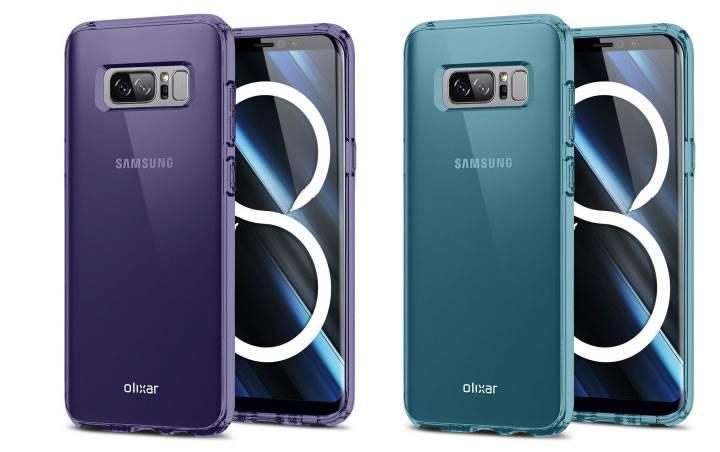 Samsung Galaxy Note 8'in tasarımı ortaya çıktı