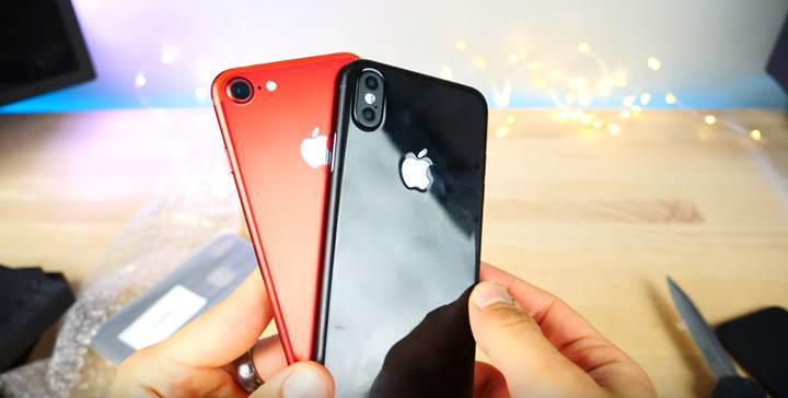 iPhone 8'in gizlisi saklısı kalmadı, cihaz yeni bir videoyla sızdı