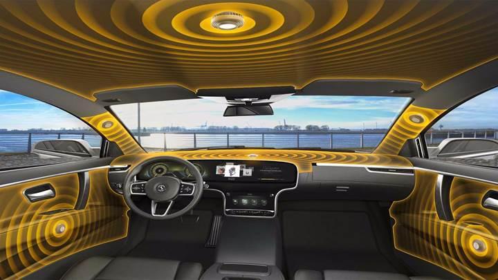 Continental'den hoparlörsüz araç içi ses sistemi