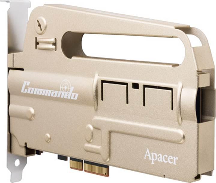 Bu da oldu: Silah tasarımlı SSD sürücü