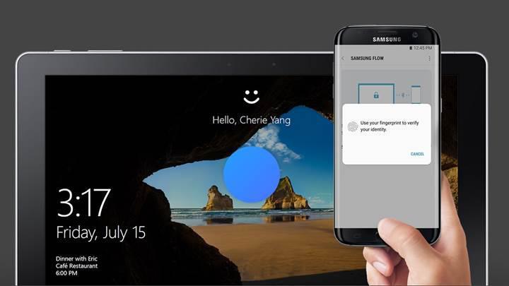 Galaxy S8'in parmak izi tarayıcısıyla Windows 10 PC'nizin kilidini açabilirsiniz
