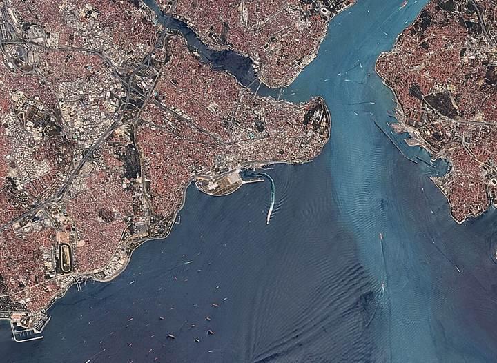 Milli olanaklarla Türkiye'de üretilen Rasat uydusundan görüntüler